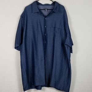 Mens van heusen button up shirt size 3XLT
